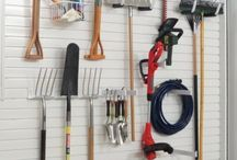 Lawn & Garden Storage Ideas / Storage and Organization ideas designed for your lawn & garden tools and supplies.