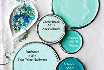 Aqua - Turquoise - Mint