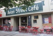 Kavárny, restaurace