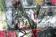 Simon Sonsino Abstract Calligraphy - Textual Art / Challenging conventional perceptions of calligraphy
