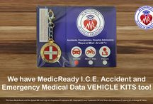 MedicReady Products and Services / For AUSTRALIAN RESIDENTS ONLY! As part of its ongoing product innovation strategy, MedicReady is pleased to be able to offer its range of products and services which have been conceived as a means of affording people peace-of-mind in case of emergency (I.C.E.), accident, or hospitalisation. #MedicReady #incaseofemergency #InCaseOfEmergency