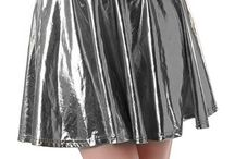 Shiny skirt