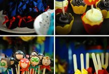 Superheroes birthday ideas