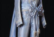 18th c., robe de cour: habit national suédois