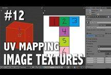 Computação Gráfica 3D / Várias imagens, dicas e tutoriais sobre Computação Gráfica 3D encontrados na internet.