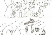 kid art - worksheets