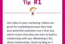 Marketing Tips / Top tips and techniques to get you marketing like a pro and to get the bookings flooding in!