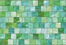 Turquoise / Aqua / Couleur color / by laminutedeco