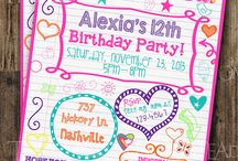 Partay!! / Ideas for my sweet 13!!