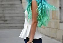 Hair Colour & Hair Styles