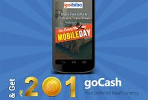 Every Monday is Mobile Day! / Now every Monday, Goibibo celebrates MobileDay. This day we offer exciting gifts, offers & more on goibibo mobile applications. You can download the app from here: www.goibibo.com/mobile