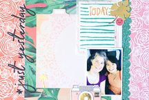 Cocoa Daisy May 2017: South Beach / We carefully curate Scrapbooking, Day in the Life (Project Life or pocket scrapbooking), Day Planner (organizers, filofax, kikki k, midori traveler's notebook, planner) kits every month. Exclusive stamps, washi tape, paper clips, puffy stickers, and more!