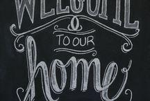 Home Chalckboard