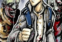Walking Dead The Comic Book Sketch Cards