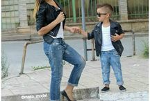 Boy and Mam