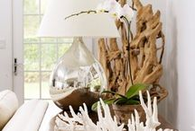 SUMMER decorating ideas / A source of bringing outside in this season. All things nature and fun-loving!