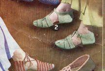 örgü ayakkabı babat yapımı
