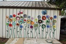 zahrada dekor