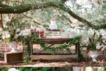 My Burgundy Rustic Wedding