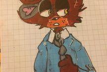 My draw foxy