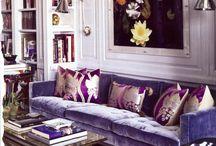 Purple in HomeDecor