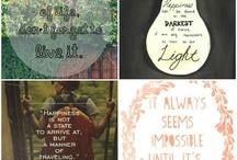 Inspiring Words / by Nicole Spizzirri