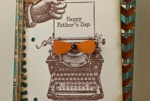 Fathers Day Card Ideas / Mixture of CTMH & others to make gorgeous Fathers Day cards
