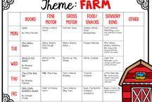 pre-school: farm