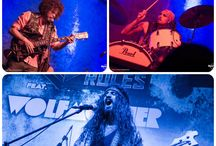 Wolfmother at HRC / The GRAMMYs award winner for Best Hard Rock Performance in 2006, Wolfmother performed LIVE at Hard Rock Cafe Mumbai & New Delhi. Here are some pictures of their performance.