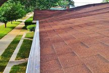 Roofing | Comp Shingle / A permanent solution to an annual problem that eliminates gutter cleaning for all-time...