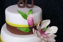 Cake designs / Moje marcipanove a raw torty
