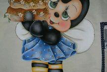 pintura Abelinha