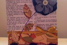 Expressando minha arte em cartoes artesanais!