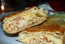 Crepes, wraps, enchiladas