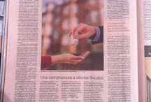 Prensa / Articulos relacionados conmigo