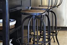 Industrial style furniture / These are the type of pieces I like