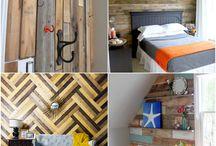 bedrooms / by Alicia Bunderson