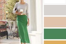 Moda-cores combinadas