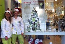 NAVIDAD 2013 / Todas nuestras actividades: sorteo de cestas de #parafarmacia. Concurso de dibujo para nuestros #peques. Escaparates de #navidad. #detalles para regalar por menos de #30 euros en #dermofarmacia. #NAVIDAD 2013-14