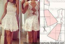 vestido corto guipiur