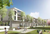 L E   P A R C / Découvrez notre résidence d'architecte, Le Parc Saint-Martin à Toulouse. Des appartements de qualité et un concept innovant.