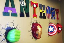 Marvel boy's room / For Marvel lovers to make them a favourite bedroom to sleep in