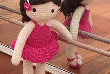Crochet dolls by mislaird