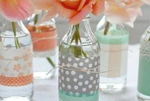 DIY-Glass Bottle Vase
