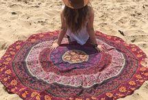 Picnic Beach Tapestry
