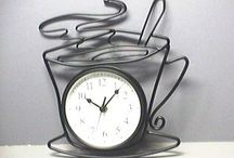 Keeping Time (Clocks) / Excuse me do you have the time? Ideas for clocks in the home or office that are fun, unique and functional at the same time.