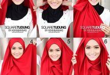 Hijab / Hijab fashion, hijab tutorial