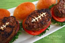 February is Superbowl! / The excitement of Superbowl 48 is here! We bring you inspiration for Superbowl party treats.