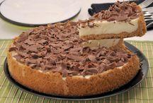 torta de limão com raspas de chocolate