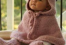 かぎ針編みのケープ